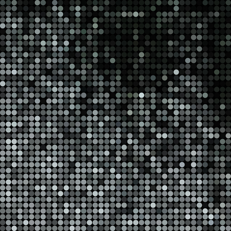 abstract vector colored round dots background - gray