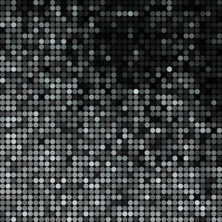 abstrakter Vektor farbiger runder Punkthintergrund - grau