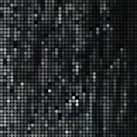 abstract vector colored round dots background - dark gray