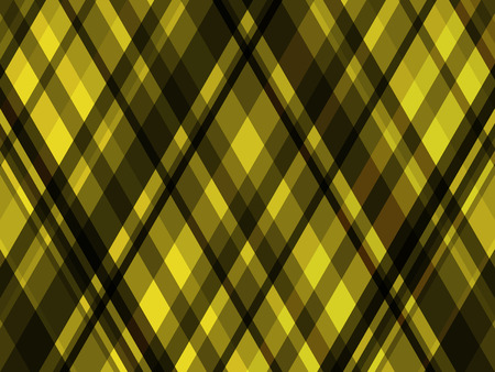 abstract vector geometric rhombus background - yellow