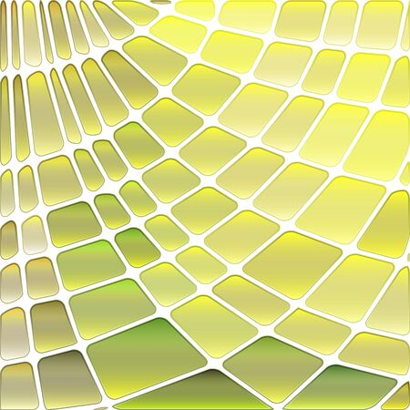 abstract vector stained-glass mosaic background - yellow and green Ilustrace