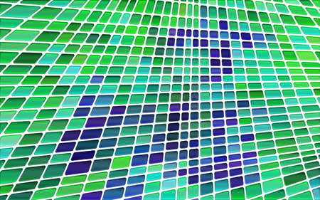 abstract vector stained-glass mosaic background - green and violet