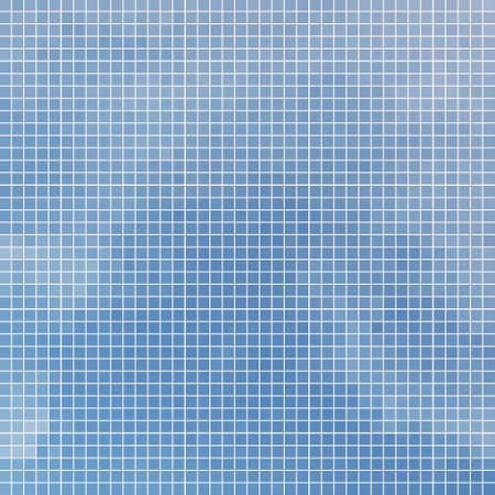 abstract vector square pixel mosaic background - blue