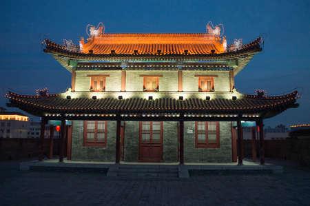 tang: Xian Ming city wall