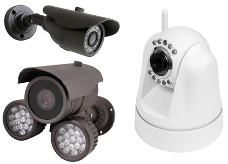 omnipresent: isolated video surveillance camera