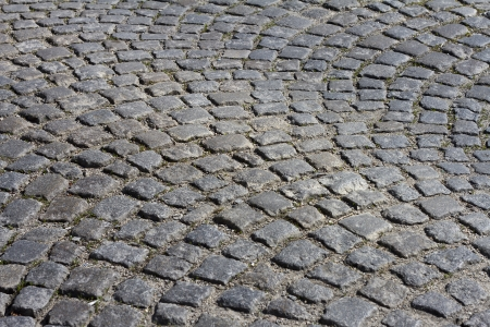 The pattern of stone block paving Stock Photo - 20419928