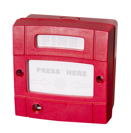 Push button switch fire alarm photo