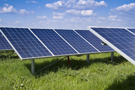 solar electric: solar panel and renewable energy