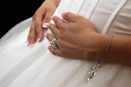 pregnant bride photo