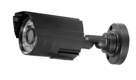 surveillance camera , studio shot photo