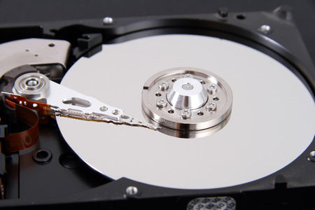 HDD as a background photo