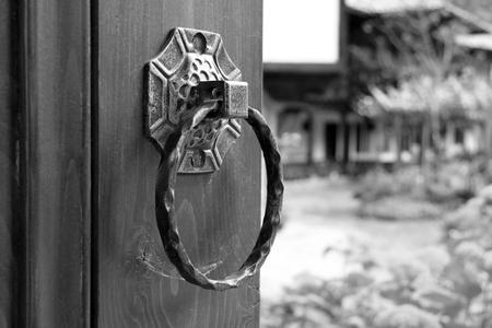Old door knocker photo