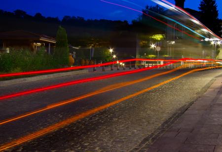 trails of lights: luci percorsi di auto