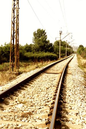 curved railway
