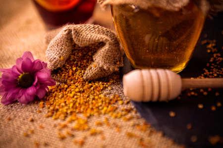 granule: pollen propolis- healthy product of bee