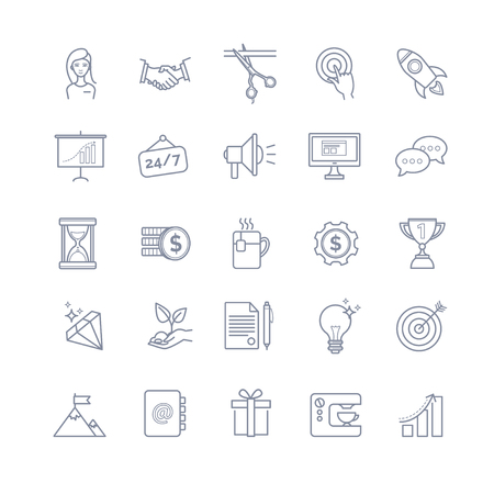 start up icons for your design
