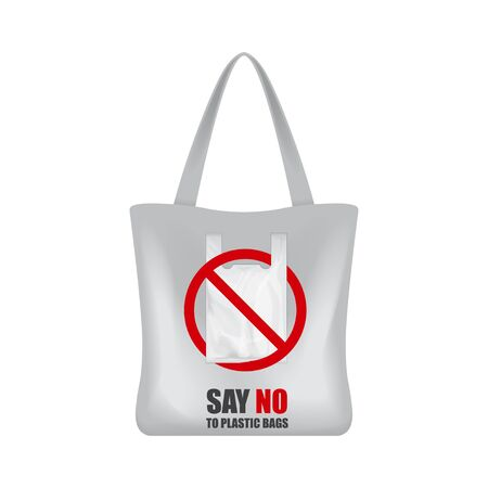 Eco shopping bag for your brand. Say no to plastic