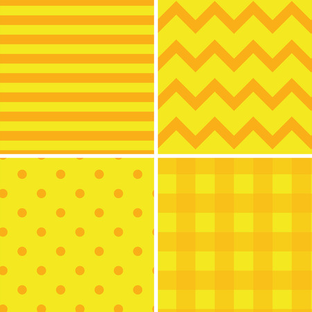 yellow: Pattern Collection Seamless Retro Background with 4 pattern for different purchase
