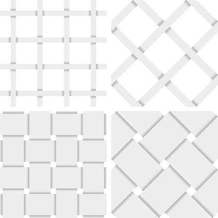 karte: Pattern Vector Seamless Textile Background with 4 pattern for different purchase Illustration