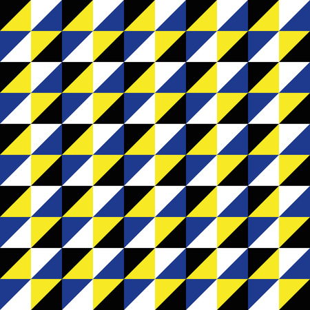black and yellow: Pattern Vector Seamless Polygon Triangle black yellow blue for different purchase