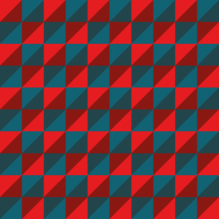 rouge et bleu: Pattern Vector Seamless Polygon Triangle red blue for different purchase