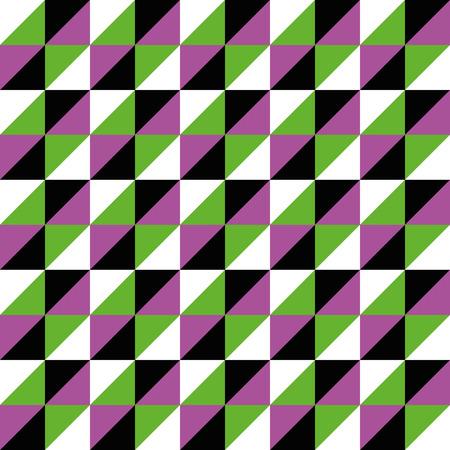 pink green: Modelo incons�til del vector Pol�gono Tri�ngulo rosa negro verde para diferentes compra