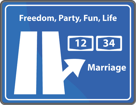 gag: Graphic Vector Sign Marriage for different purpose