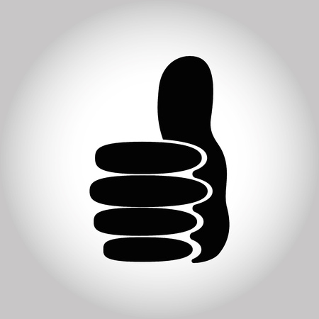 Illustration Icon Vector Thumbs Up for different purpose Ilustrace