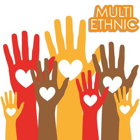 multi cultural: Illustration Vector Graphic Diversity for different purpose in web and graphic design Illustration