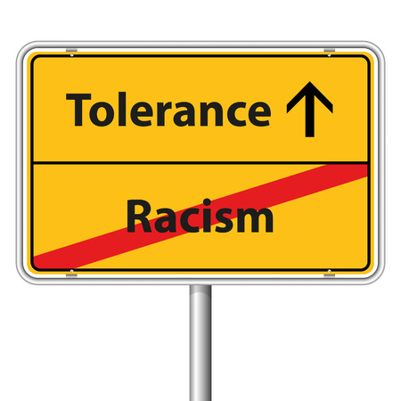 tolerance: Illustration Graphic Road Sign Tolerance for the creative use in web and graphic design