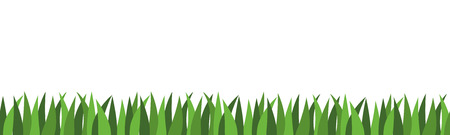 copyspace: Illustration Graphic Grass with copyspace for the creative use in web and graphic design