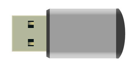 data transmission: Illustration Vector Graphic USB Stick for the creative use in graphic design
