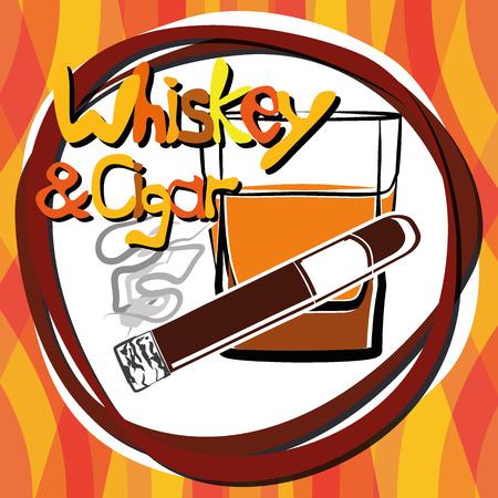 nightlife: Illustration Nightlife Drinks for creative use in graphic design