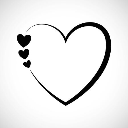 forme: Icône Forme Trois Coeurs