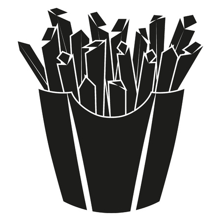 Pictogram Icon Fries for the creative use in graphic design