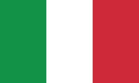 Detailed Illustration National Flag Italia