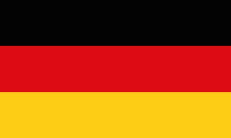 Detailed Illustration National Flag Germany 일러스트