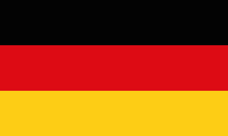 Detailed Illustration National Flag Germany Illustration
