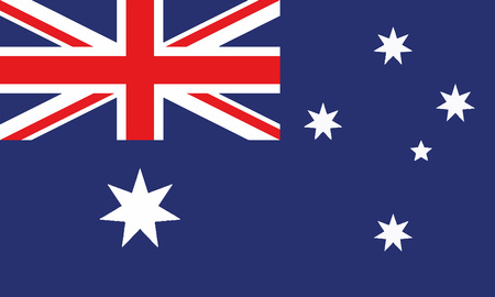 Detailed Illustration National Flag Australia 일러스트