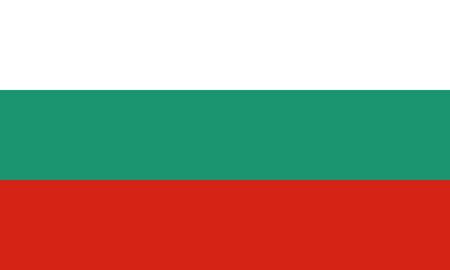 Detailed Illustration National Flag Bulgaria 일러스트