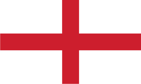 Detailed Illustration National Flag England