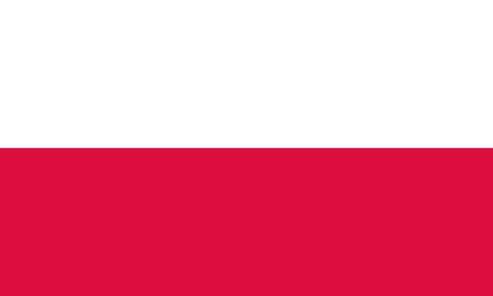 Detailed Illustration National Flag Poland