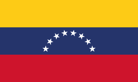 Detailed Illustration National Flag Venezuela