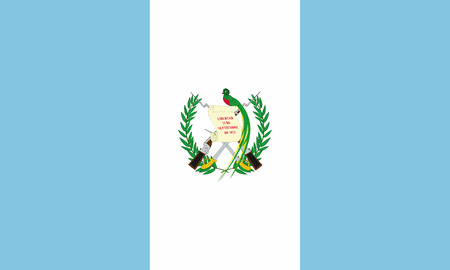 Detailed Illustration National Flag Guatemala 일러스트