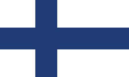 Detailed Illustration National Flag Finland