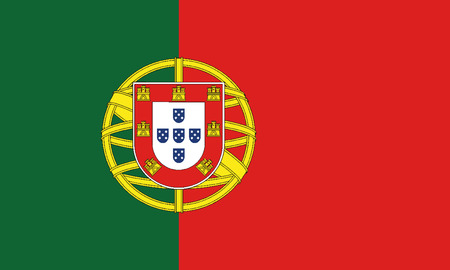 Detailed Illustration National Flag Portugal
