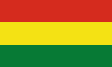 Detailed Illustration National Flag Bolivia 일러스트