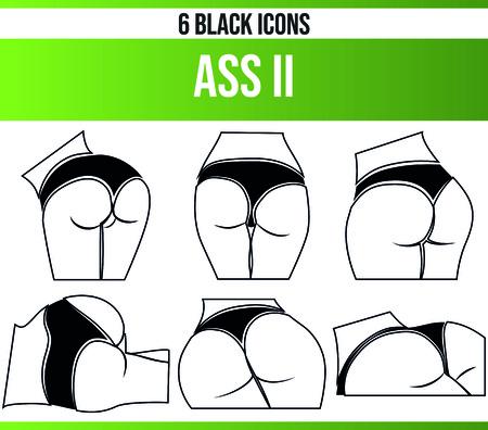 Pictogrammes/icônes noirs sur les femmes. Cet ensemble d'icônes est parfait pour les personnes créatives et les designers qui ont besoin du thème des femmes dans leurs conceptions graphiques.