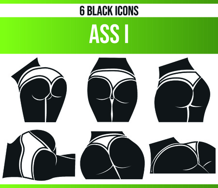 Black pictograms / icons about erotic women. This icon set is perfect for creative people and designers who need the theme of erotic women in their graphic designs. Иллюстрация