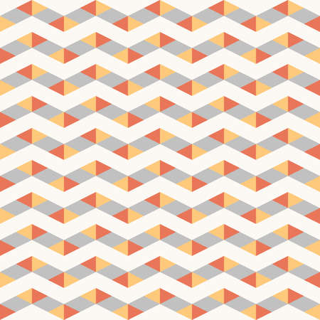 seamless colorful abstract graphical geometric zig-zag line pattern texture element